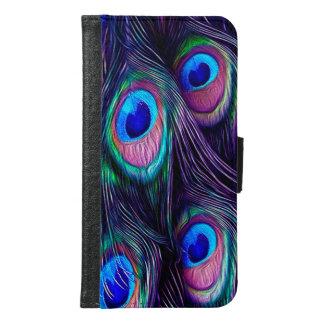 Peacock Samsung Galaxy S6 Wallet Case