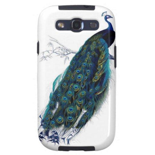 Peacock Samsung Phone Case Galaxy S3 Cover