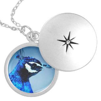 Peacock Sapphire Pendants