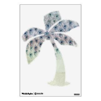 Peacock Sea Fantasy Palm Wall Sticker