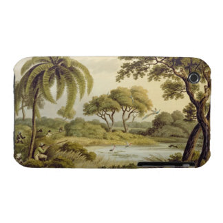 """Peacock Shooting, from """"Oriental Field Sports"""", pu Case-Mate iPhone 3 Case"""