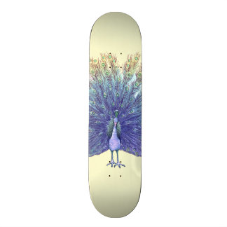 Peacock Skateboard Deck