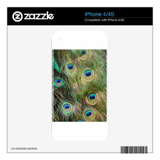 Peacock Skins For The iPhone 4S