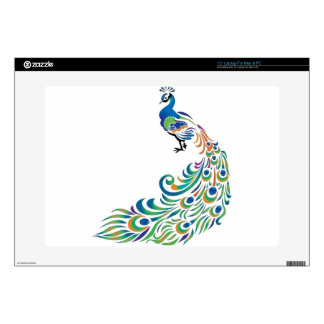 """Peacock 15"""" Laptop Skins"""