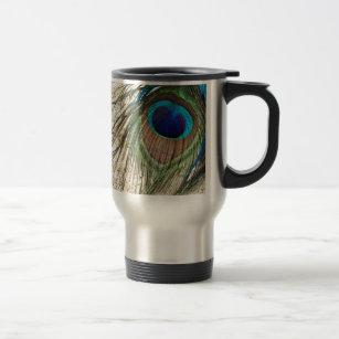 Peacock Song Travel Mug