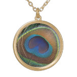 Peacock Spiritual Protection Talisman Personalised Necklace
