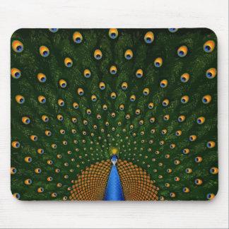 Peacock Spread Mousepad