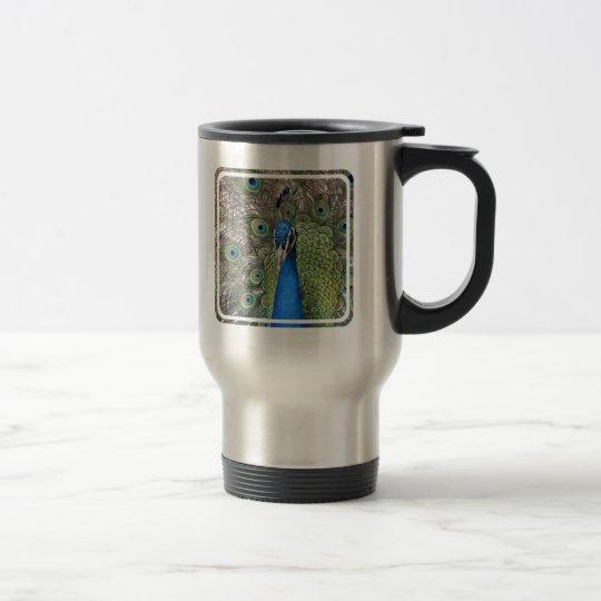 Peacock Stainless Travel Mug
