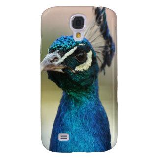 Peacock Stare Galaxy S4 Cover