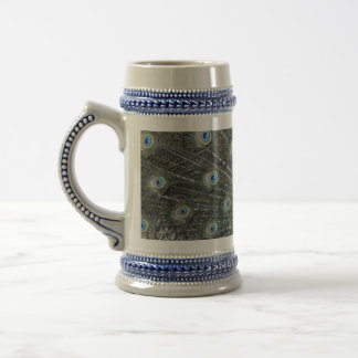 Peacock Stein Mugs