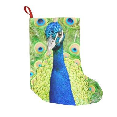 Peacock Stocking