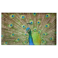 Peacock Table Number Holder