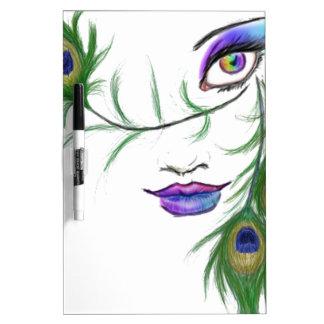 Peacock Tablero Blanco
