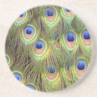 Peacock Tail Coaster