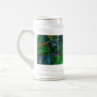 Peacock. Tazas De Café