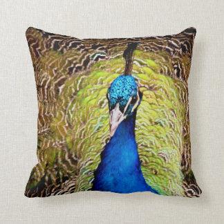 Peacock Throw Pillow