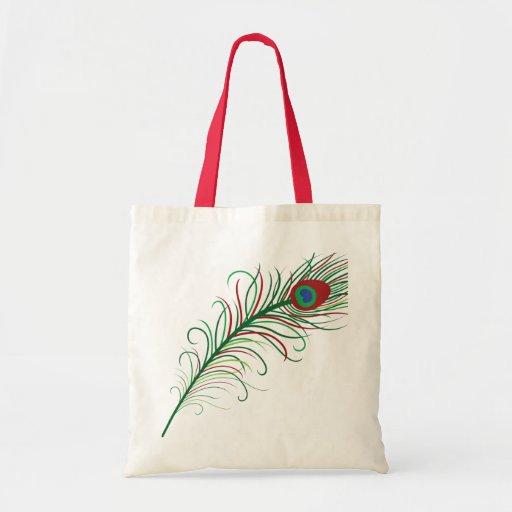 Peacock Tote Tote Bags