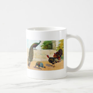 Peacock,Turkey, & Guinea Fowl Coffee Mug