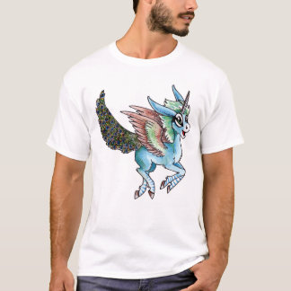 Peacock Unicorn T-Shirt
