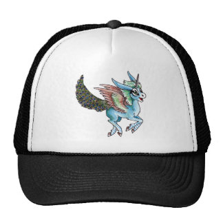 Peacock Unicorn Trucker Hat