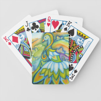 Peacock Watercolor Playing Cards