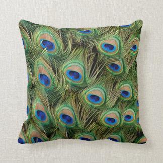 Peacock Wedding Reversible Pillow