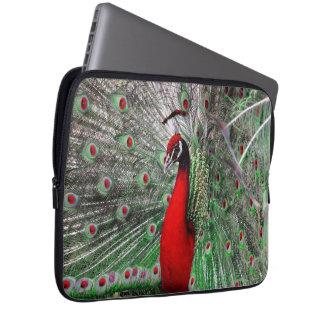 Peacock Wildlife Laptop Sleeve