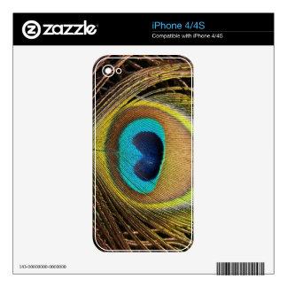 Peacock Zazzle Skin Skin For iPhone 4S