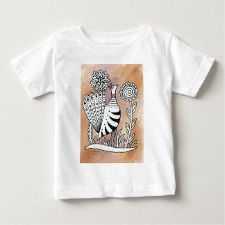 PeacockMexicanBark Baby T-Shirt