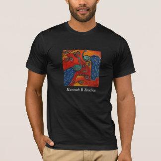 Peacocks In Trees, Hannah B Studios T-Shirt