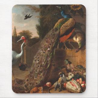 Peacocks Mousepad