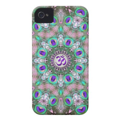 Peacolia Purple Aum iPhone 4 CaseMate Cases casematecase