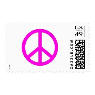 Peae Sign Postage Stamp