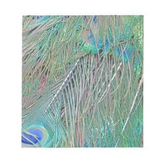 Peafowl Decadence Notepad