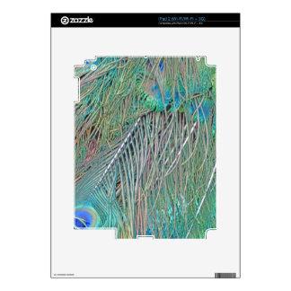 Peafowl Decadence Skins For iPad 2