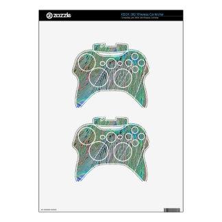 Peafowl Decadence Xbox 360 Controller Skin