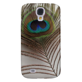 Peafowl feather samsung galaxy s4 covers
