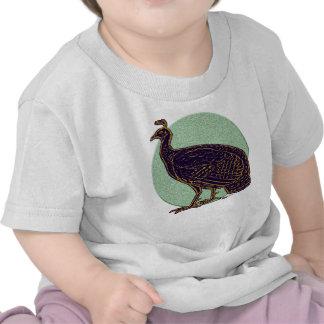 Peafowl:  Gallina impresionista de Congo Camisetas