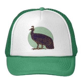 Peafowl:  Impressionistic Congo Hen Trucker Hats