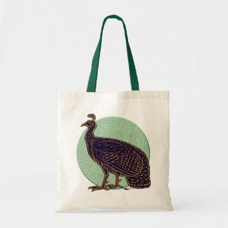 Peafowl:  Impressionistic Congo Hen Tote Bag