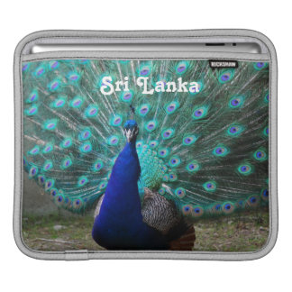 Peafowl in Sri Lanka Sleeve For iPads