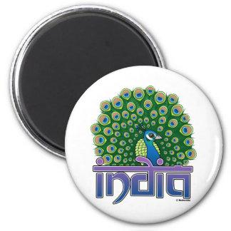 Peafowl of India Magnet