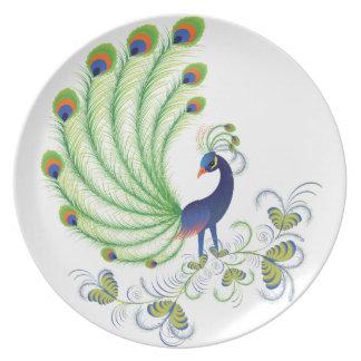 Peafowl Plato De Comida