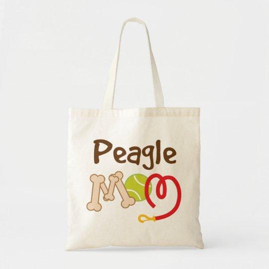Peagle Dog Breed Mom Gift Tote Bag