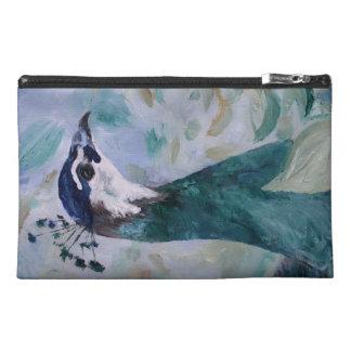 Peahen Portrait Travel Accessories Bags