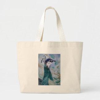 Peahen Portrait Bag