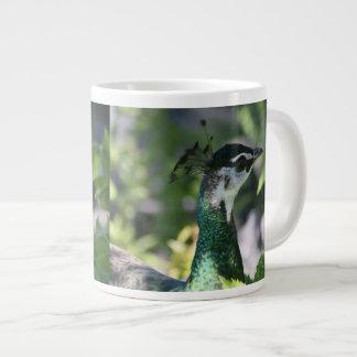 Peahen Profile Specialty Mug