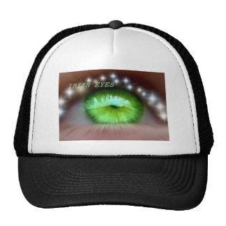 Peak Cap with eye detail Trucker Hat