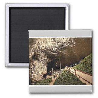 Peak Cavern, Castleton, Derbyshire, England rare P Refrigerator Magnet
