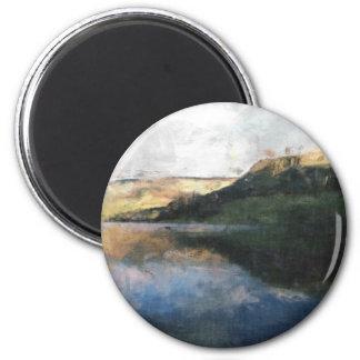 Peak District 2 Inch Round Magnet